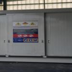 EMPRESA CIKAUTXO. Contenedor para almacenar 6 PALETS DE 1.200 X 1200 MM de peróxidos