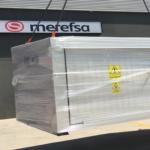 EMPRESA MEREFSA: Contenedor para 800 kg de peróxidos orgánicos